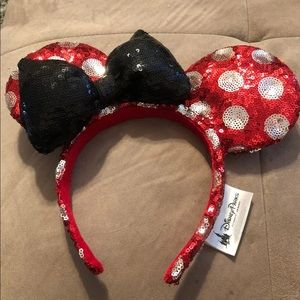 Polka Dot Minnie Mouse Ears!